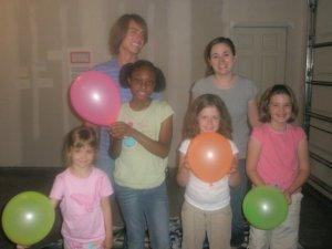 Children Ministry Balloons